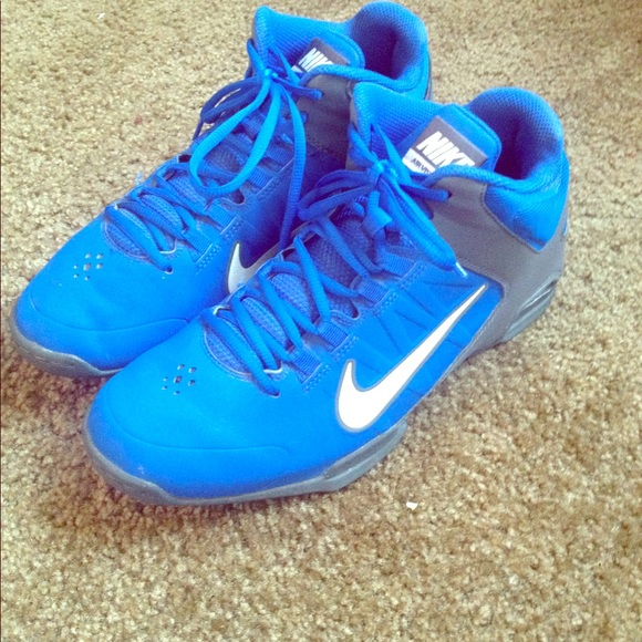 Nike Other - Blue nike air visi pro 4